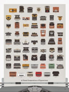 A Visual Compendium Of Typewriters is perfect for any typewriter_ design enthusiast