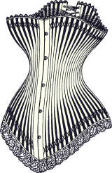 Corset1878taille46_300gram