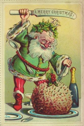 3. Green Santa